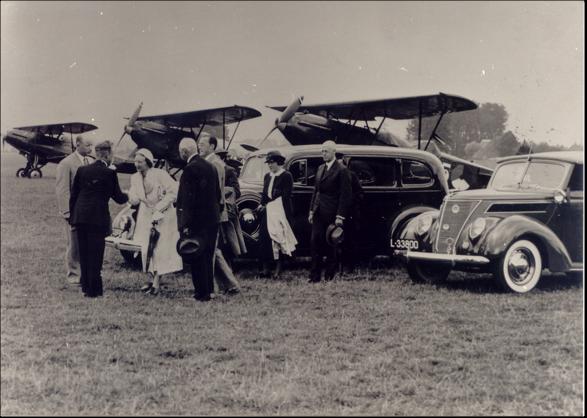 1937 Prinselijk paar (c) archief Gerard Burgers.png