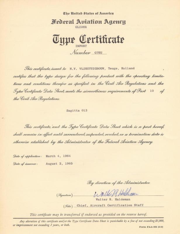 Type certificate Sagitta.jpg